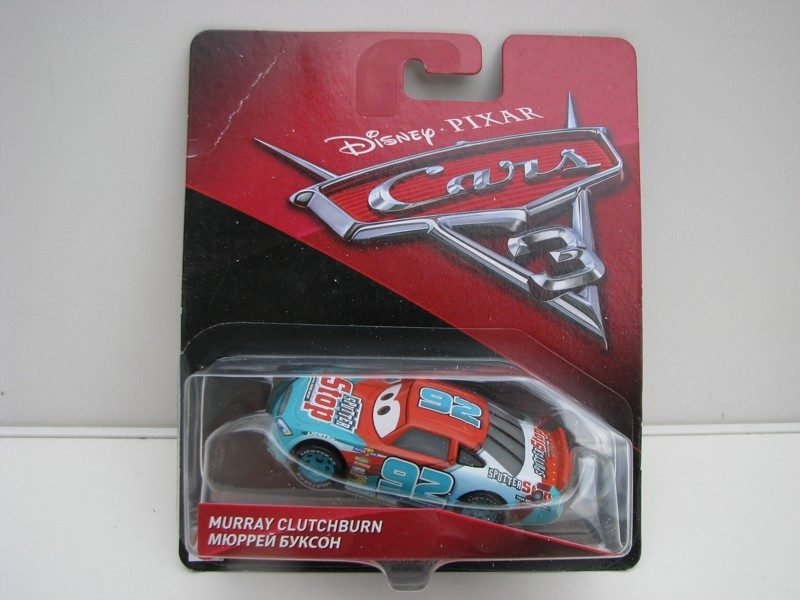 Murray Clutchburn autíčka Cars Disney Pixar Cars 3 DXV69
